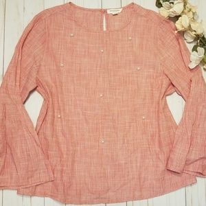 Beach Lunch Lounge Pearl Blouse